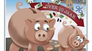 De gevaren van sparen: na tien jaar nog maar de helft over