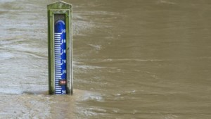 Wegen natuurgebied Ohé bij Herkenbosch afgesloten vanwege hoogwater