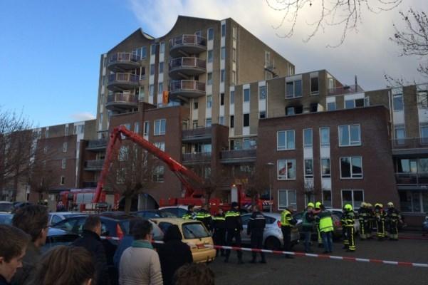Rechtbank: bewoner Venlose flat stak de brand in 2018 zelf aan