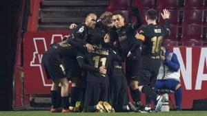 Ook in doldwaas bekerduel is Frenkie de Jong beslissend voor FC Barcelona