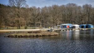 Verbinding gezocht en gevonden in het Brunssumse Schutterspark: hangvennen worden geheel