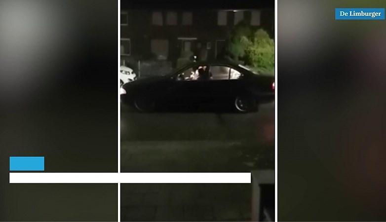 Video: 'Adolf Hitler' rijdt door Sittardse wijk om avondklok aan te kondigen
