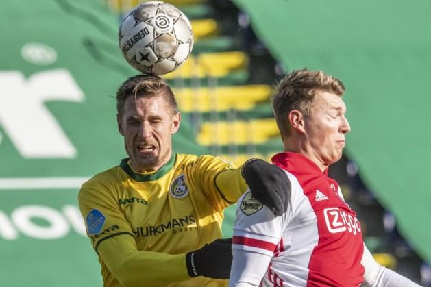 Perr Schuurs met Ajax tegen AZ