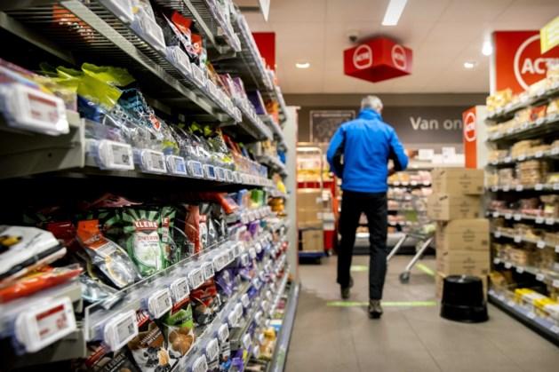 Supermarkten bereiden zich voor op winters weekend
