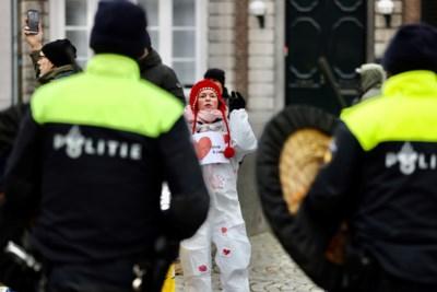 Politie beëindigt 'coronademonstratie' op het Vrijthof
