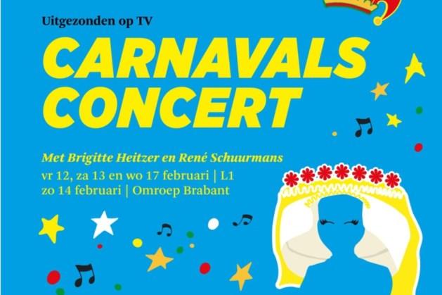 Brigitte Heitzer en René Schuurmans brengen ode aan carnaval met philharmonie zuidnederland