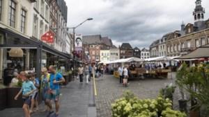 Weekmarkt op carnavalszaterdag en aswoensdag in Roermond