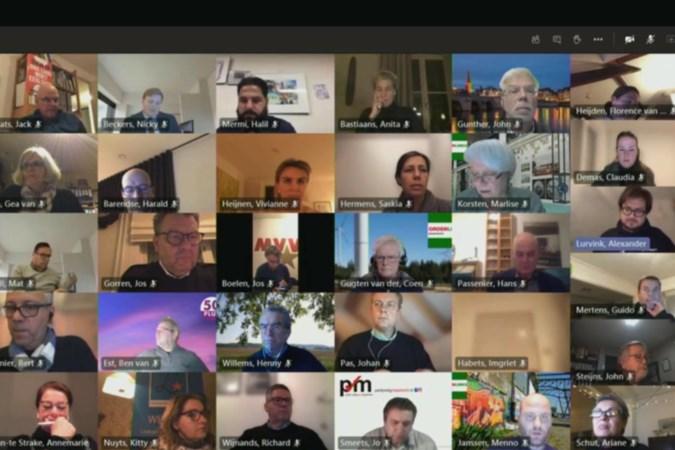 Politici snakken naar fysiek vergaderen, maar in Maastricht gebeurt het niet