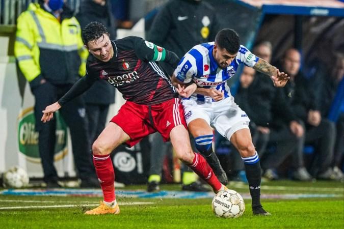 Ook bekerduel Heerenveen - Feyenoord afgelast; NEC - VVV begint 17 februari om 16.30 uur