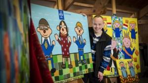Hangt het schilderij van Twan (52) uit Panningen straks in het Torentje van Rutte?