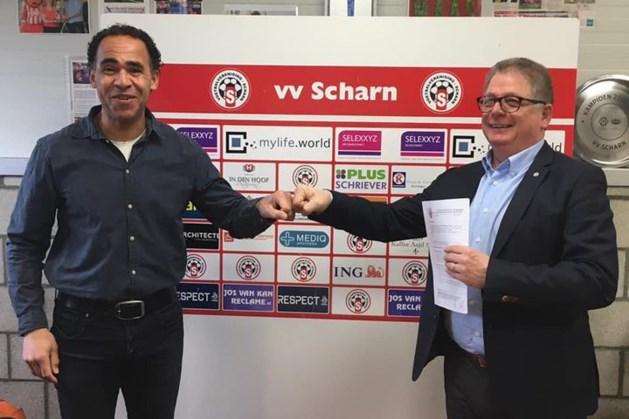 Anton Vriesde gaat nog een jaar door bij vv Scharn