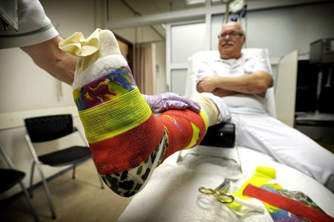 Gipsmeesters druk met botbreuken: tientallen patiënten in ziekenhuis