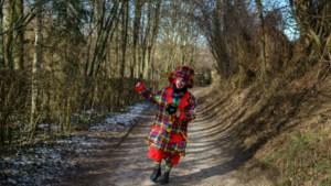 Zuid-Limburg op carnavalszondag: verkleed op bezoek bij oma en vijftien kilometer wandelen als clown