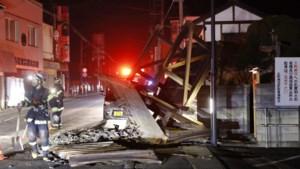 Grote stroomuitval in Japan door aardbeving, tientallen gewonden