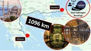 Leerlingen en docenten hebben al tot Istanbul gelopen