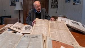 Pastoor Jansen vindt eeuwenoude kranten in brandkast pastorie Valkenburg