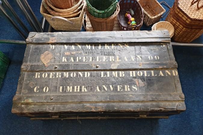 Margriets hutkoffer kwam niet van de Titanic maar van een stoomboot uit Congo