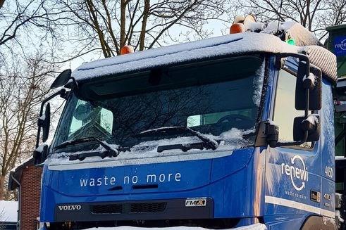 Gemeente Venlo zet extra wagen in voor afvalinzameling
