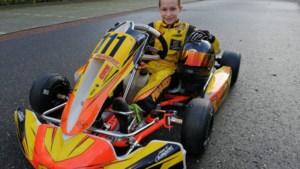 Karttalent Reno Francot uit Echt neemt deel aan FIA Academy