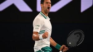 Djokovic met overtuiging naar eindstrijd Australian Open