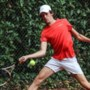 Tennisser Jip van Assendelft sprokkelt na zijn overstap naar de senioren zijn eerste punten voor de ranglijst