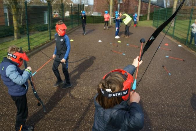 Opkomst eerste Wintergames in Mheer laat zien dat kinderen staan te trappelen om samen buiten spelen