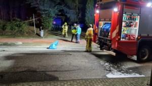 Twee personen gewond na zware explosie in schuur Brunssum