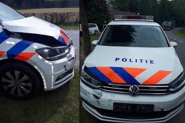 Hoe de politie Noord-Limburg verslag deed van een wildwest-achtervolging op de A73