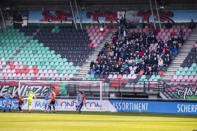 Voetballen voor publiek geeft NEC'ers een kick