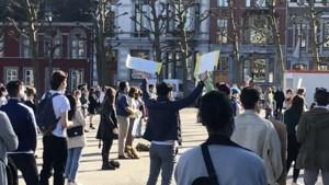 Vreedzame antiracisme-demonstratie van Black Lives Matter op Vrijthof