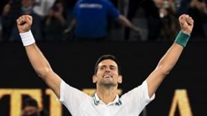 Djokovic voor negende keer de beste op Australian Open