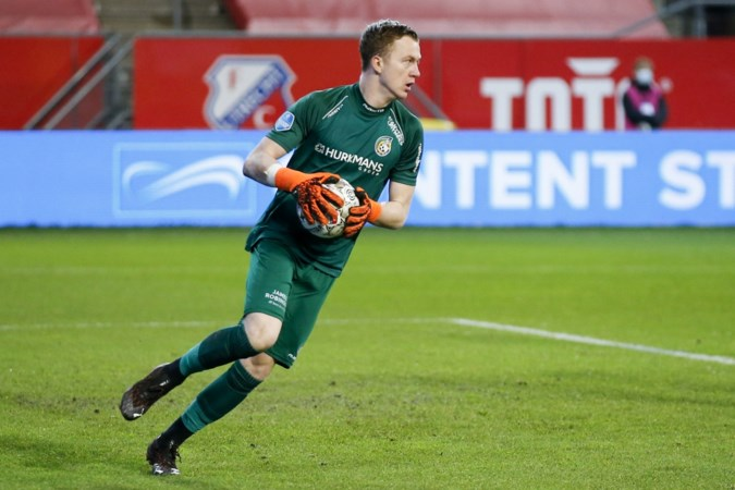 Ernst blessure Fortuna-keeper Van Osch nog onduidelijk