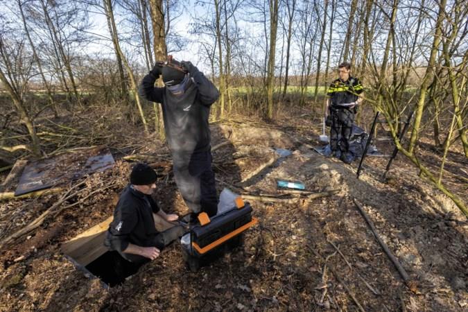 Houten wietkelder in bosperceel Nederweert-Eind: 'Ze hebben tijd gehad om ongestoord te bouwen'