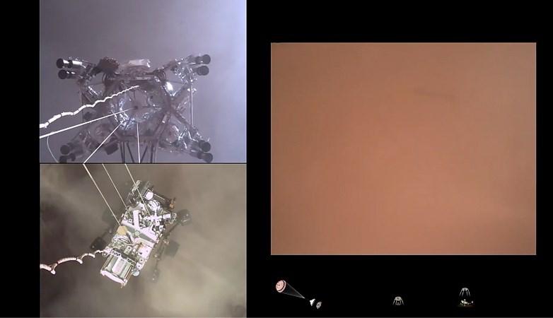Video: NASA geeft nieuwe beelden vrij van landing Marsrobot