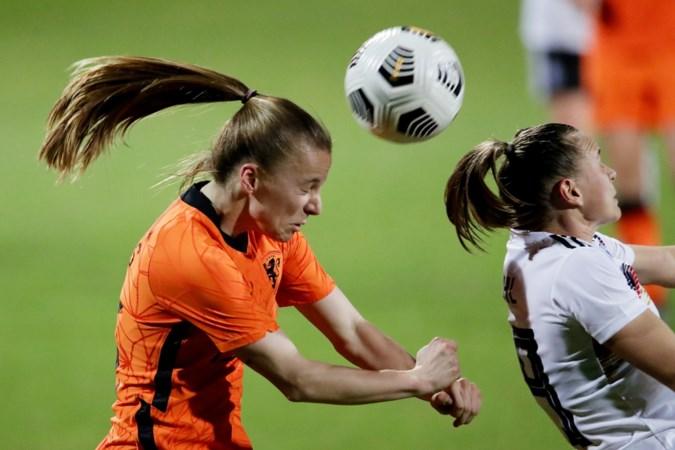 Lynn Wilms uit Tegelen lijkt zich te kunnen opmaken voor plekje in olympisch selectie Leeuwinnen