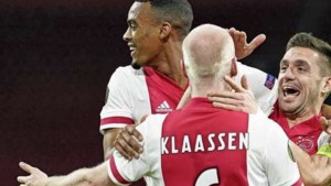 Ajax via Lille naar volgende ronde Europa League