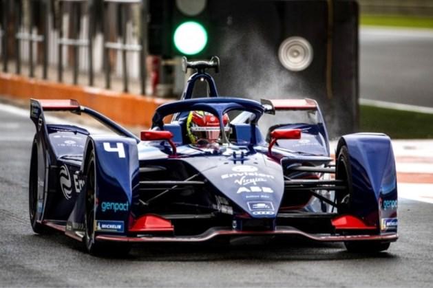 Eerste poleposition voor coureur Robin Frijns in Formule E