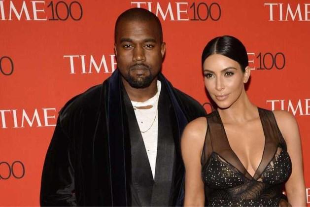 'Ruzie over vakantieplannen oorzaak van scheiding Kim en Kanye'