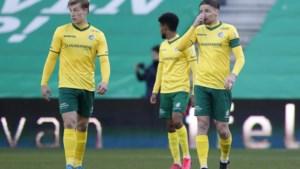 Fortuna verliest nipt in Groningen en is doelman Velthuizen alweer kwijt