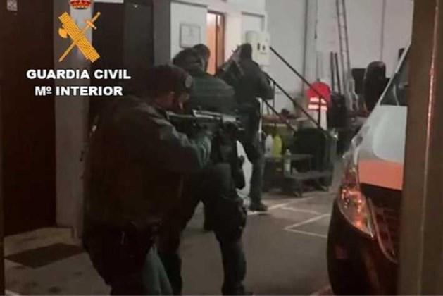 Nederlanders opgepakt na drugsinval Malaga