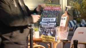 Video: Horecaprotest in Limburg: 'Dit is zo frustrerend. Geef ons perspectief, geef ons de ruimte'