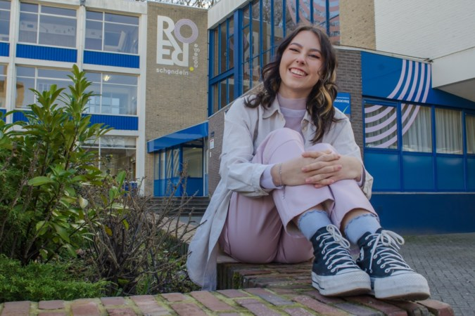 Onderscheiding voor Indy (18) uit Roermond, die zich op school sterk maakt voor positie van LHBTI-leerlingen