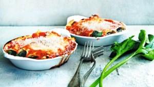 Makkelijke pasta: met verse lasagnevellen maak je in een handomdraai deze cannelloni van Janneke Philippi