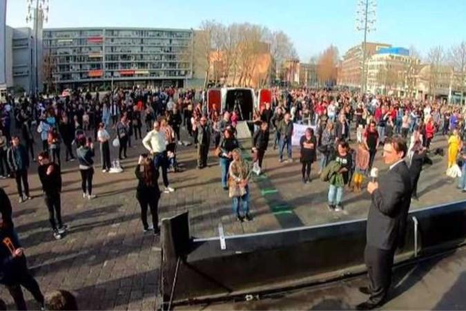 Bijeenkomst FvD afgeblazen vanwege te vol plein in Heerlen