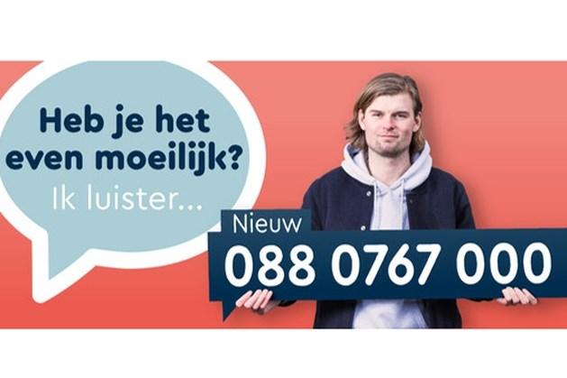 Nieuw telefoonnummer voor De Luisterlijn