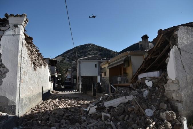 Elf gewonden en beschadigde gebouwen na beving Griekenland