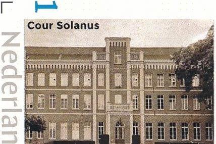 Historisch postzegel van Cour Solanus in Sittard