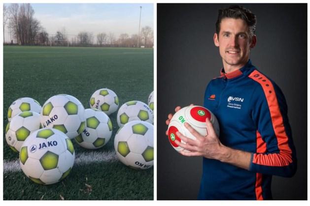Keeperschool Danny Wintjens geeft honderd gebruikte ballen weg