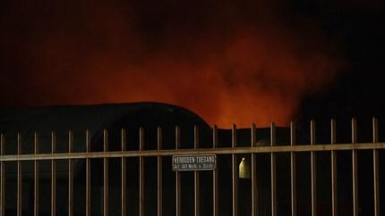 Video: Brand bij afvalverwerkingsbedrijf Maastricht