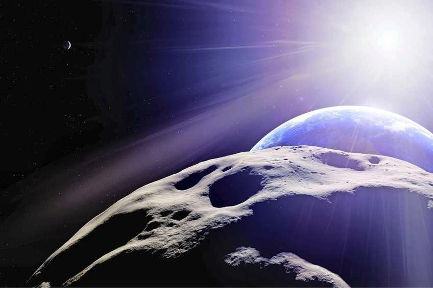 Pindavormige asteroïde ter grootte van Eiffeltoren scheert l... - De Limburger